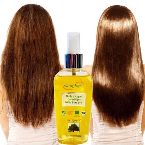 huile d argan sur cheveux secs ou humides