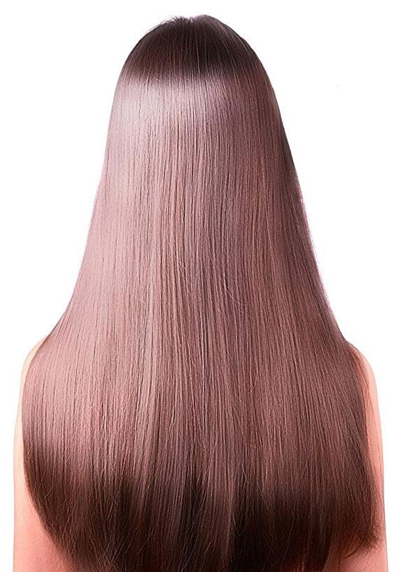 l'huile de ricin donne ce type de résultat pour vos cheveux