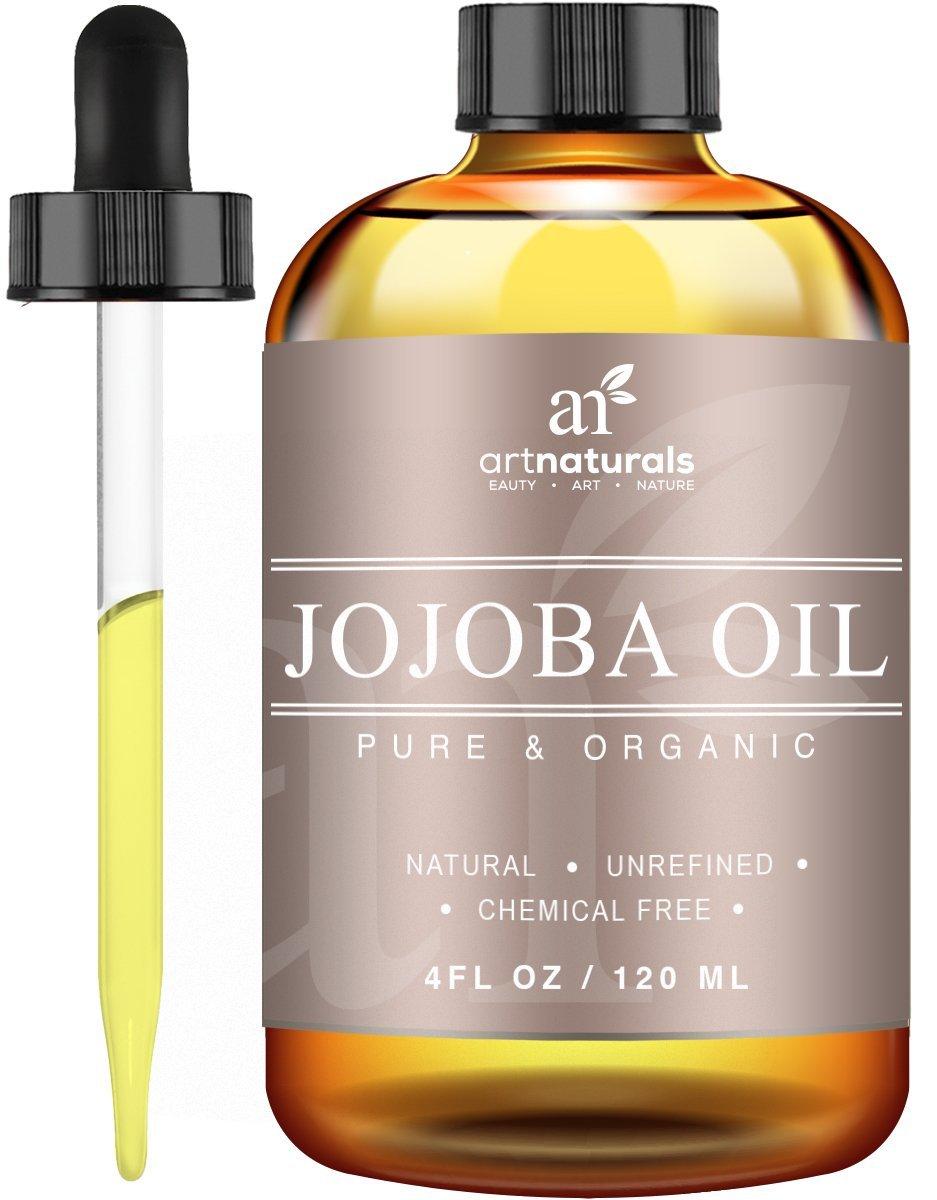 Huile Art Naturals jojoba idéale pour les cuirs chevelus sensibles