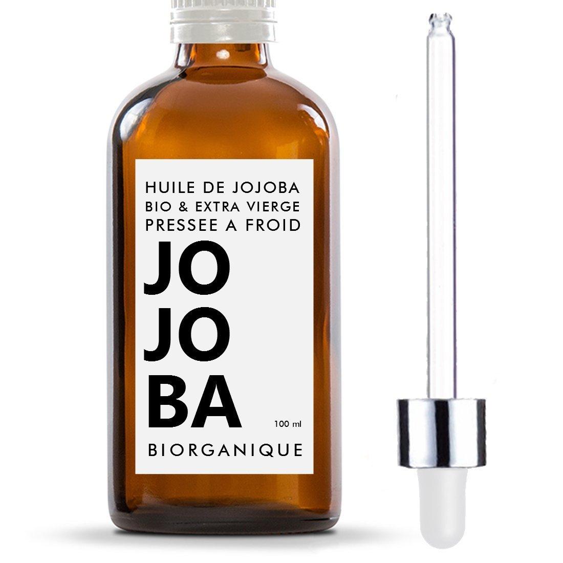 Huile deJojoba Biorganique un excellent produit de soins pour les cheveux