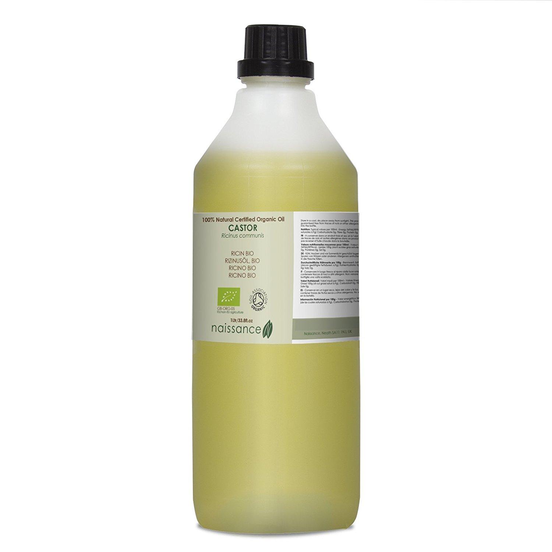 Huile végétale de ricin Bio pour la peau et les cheveux
